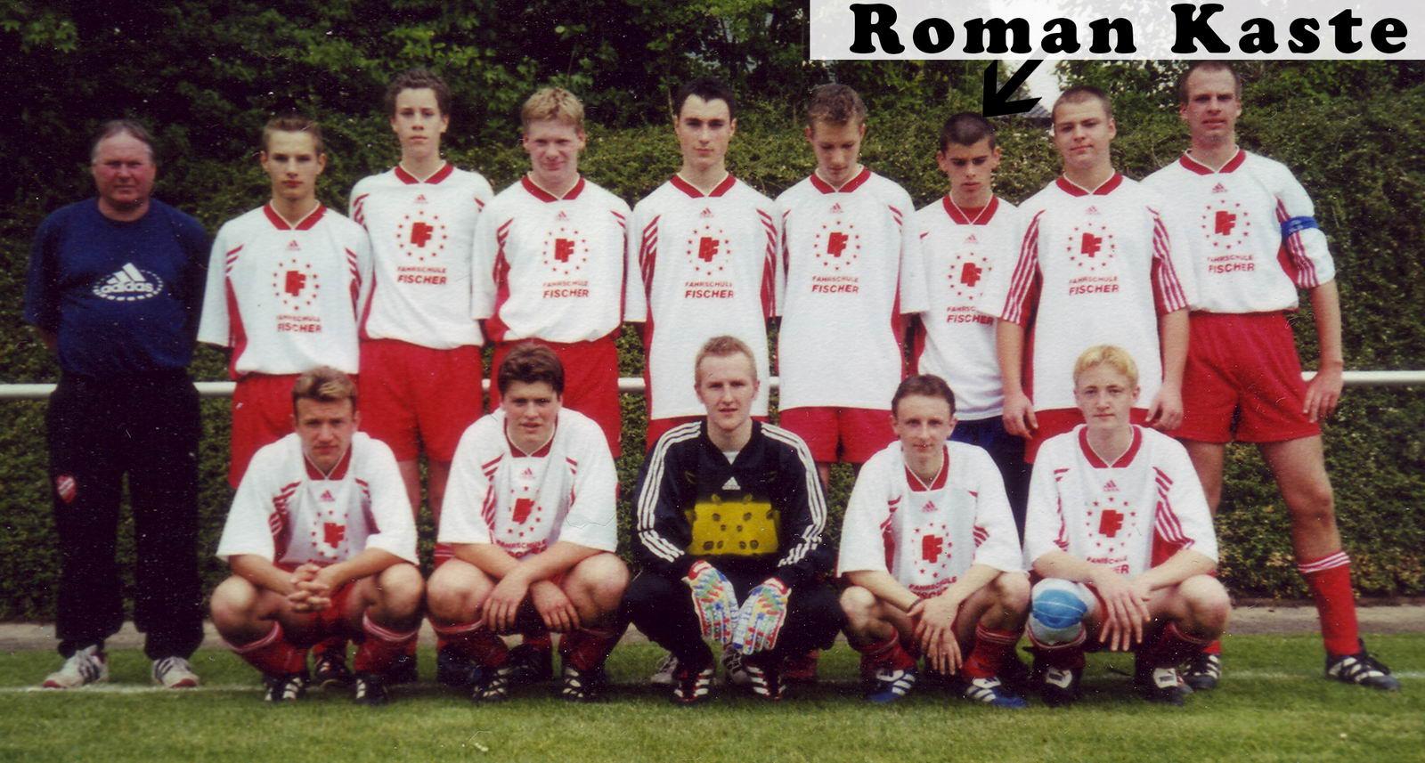 A-Jugend 2001 Legende Ulf Sievers ist Trainer