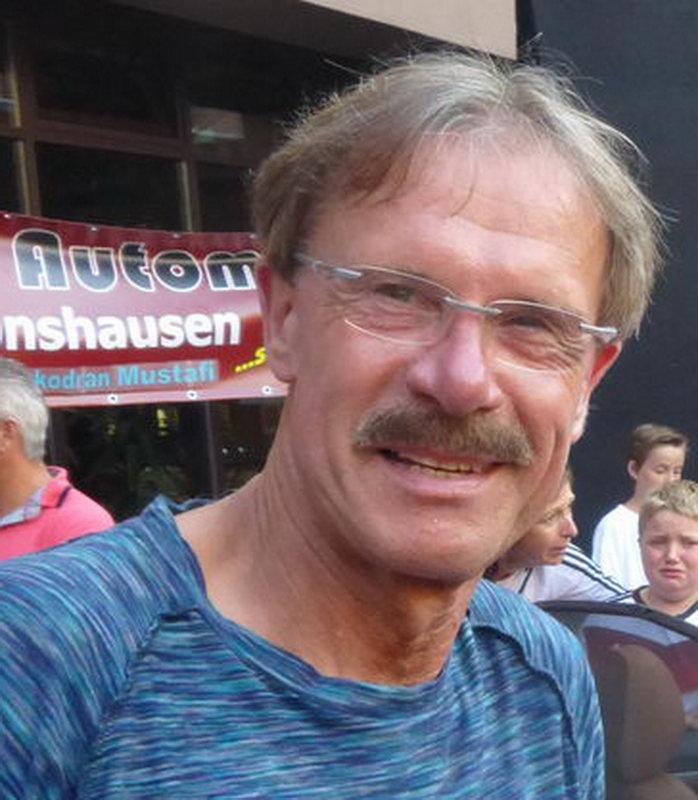 Stadionsprecher Siggi Kraft
