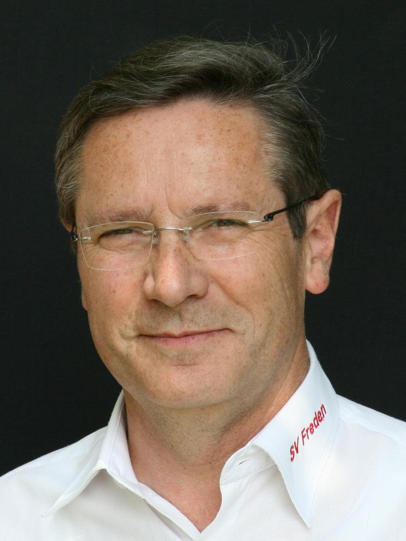 Wilfried Luks, Ehrenvorsitzender des SV Freden