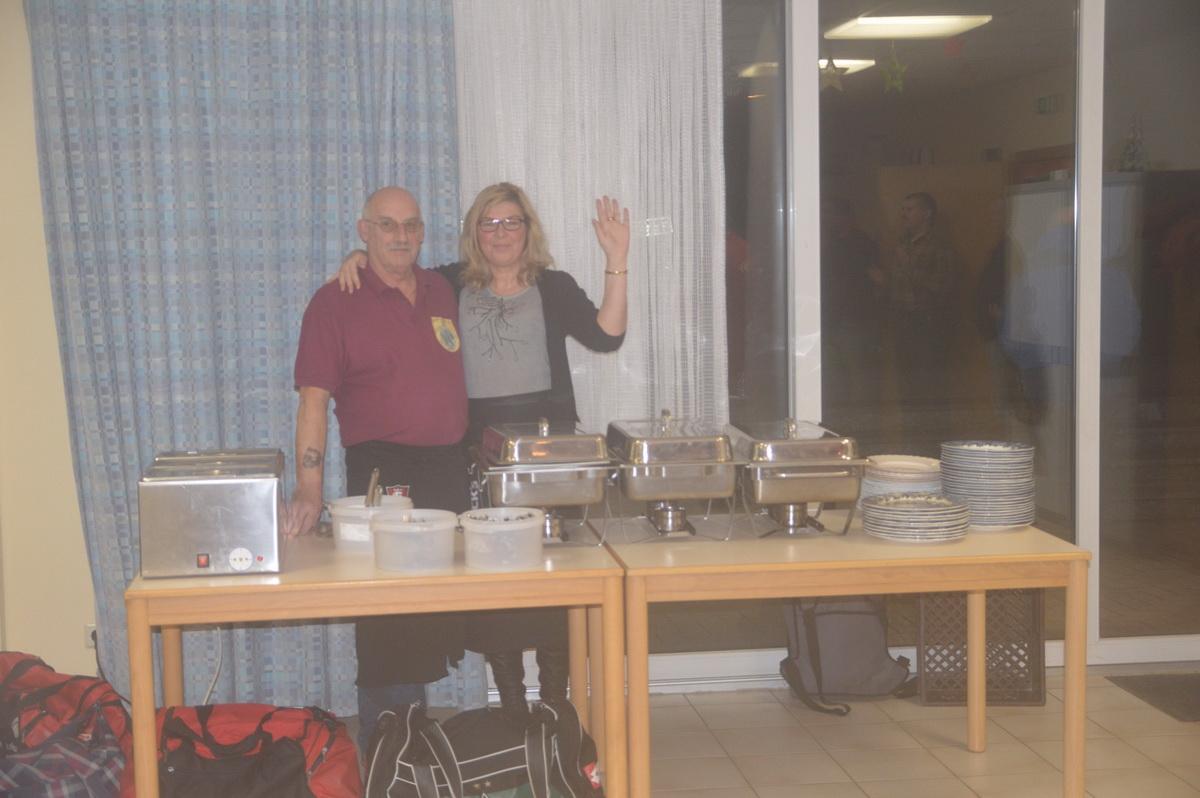 Catering vom Feinsten: Die Gaststätte Brunotte liefere das Essen