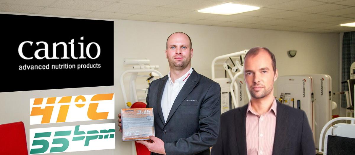 Besiegelten die neue, für beide Seiten nutzbringende Kooperation: Tobias Kiehne (2.Vorsitzender SV Freden) und Mario Holze (Geschäftsführer Cantio)