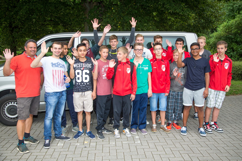 """Die U16 sagt """"Tschüss"""" Vom 27. bis 31. August absolviert die Mannschaft ein Trainingslager im bayrischen Bad Tölz"""