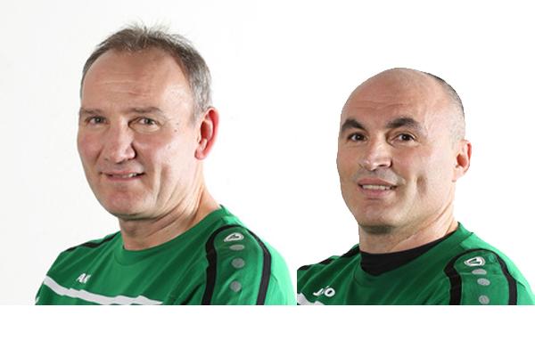 Gehörten zum Trainerteam: Die Ex-Profis Roman Wojcicki und Fatmir Vata
