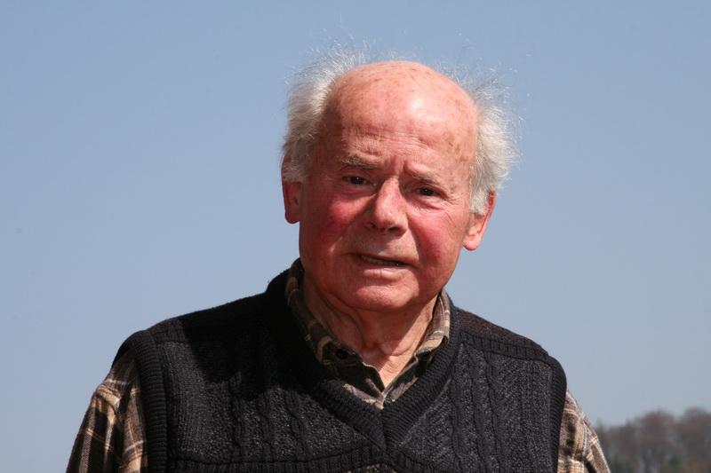 Rudi Wienecke anlässlich des 90. Geburtstages des SV Freden