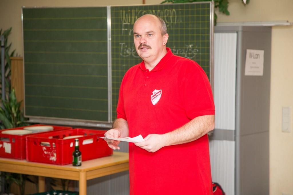 Dankte allen Mitwirkenden: Holger Schubert (1.Vorsitzender)