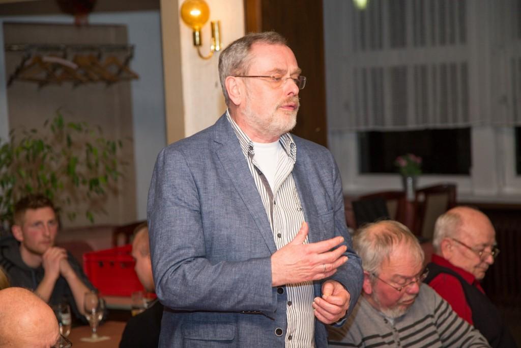 Lobte den SV Freden: Rüdiger Paulat