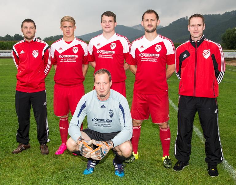Neu beim SV Freden, unsere starken Zugänge Dustin Jeckstedt, Felix Metze, Sören Ratheisky, Andreas Weber, Tobias Schneider und Trainer Holger Wesche