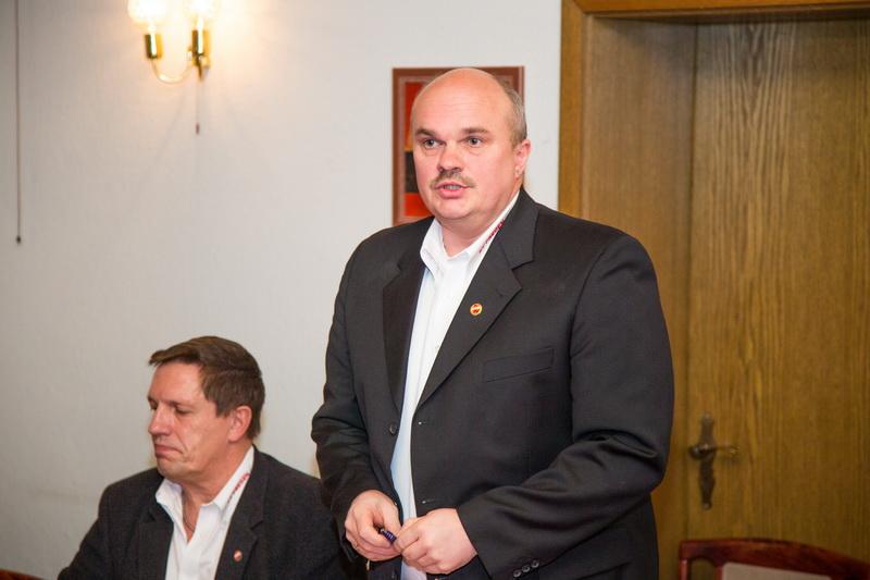 El Presidente Holger Schubert hatte nur Gutes zu berichten und beendete die JHV wie gewohnt in Sensationszeiten...