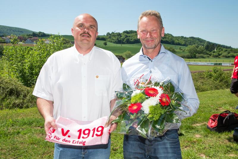 Holger Schubert (1.Vorsitzender) und Michael Kerkau (Autohaus Kerkau)