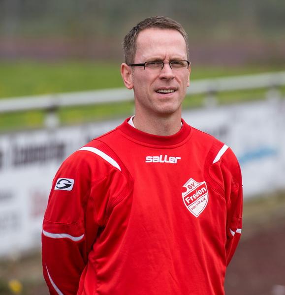 Trainer Holger Wesche war mit dem Spiel (gerade in der 1.Halbzeit) sehr zufrieden
