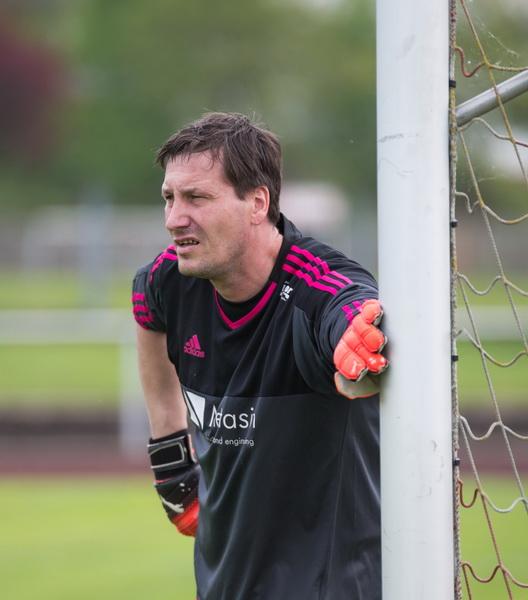 Feierte sein Wiedersehen... TSV-Keeper Lars Niemeier verbrachte auch einige schöne Jahre in Freden....