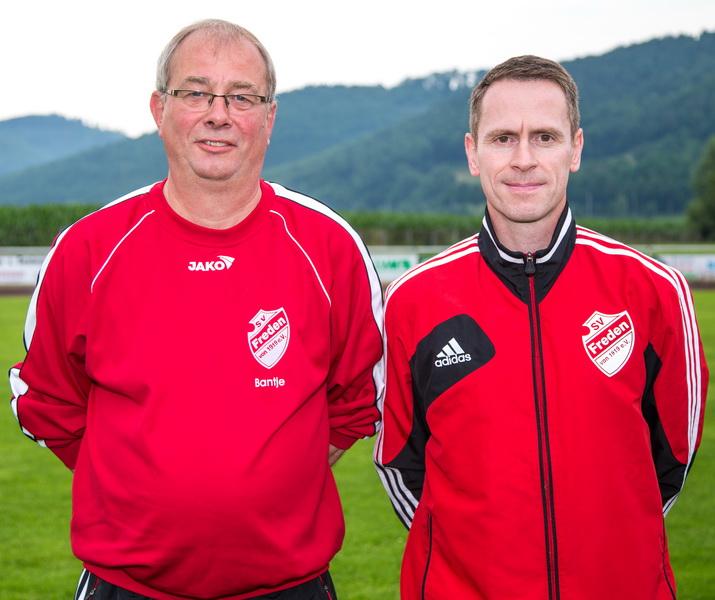 Ein tolles Gespann: Knut Bantje (Betreuer) und Holger Wesche (Trainer)