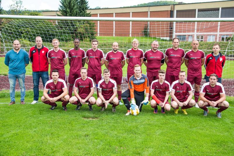 Die Zweitherrenmannschaft der SG Freden/Hörsum in der Saison 2017/18