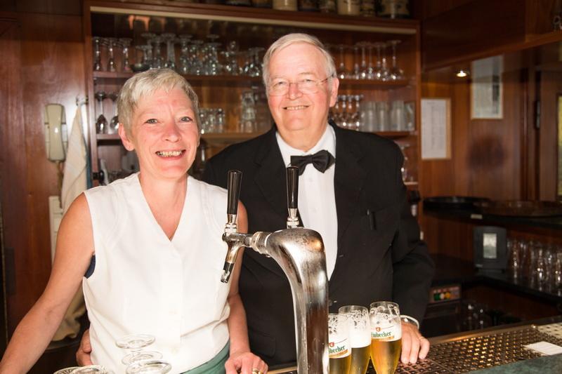 Mandy & Kurt Heipke betreiben das Hotel in 4. Generation...