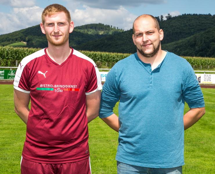 Ein besseres Trainergespann gibt es nicht...! Andrè Rittierott und Sascha Lange
