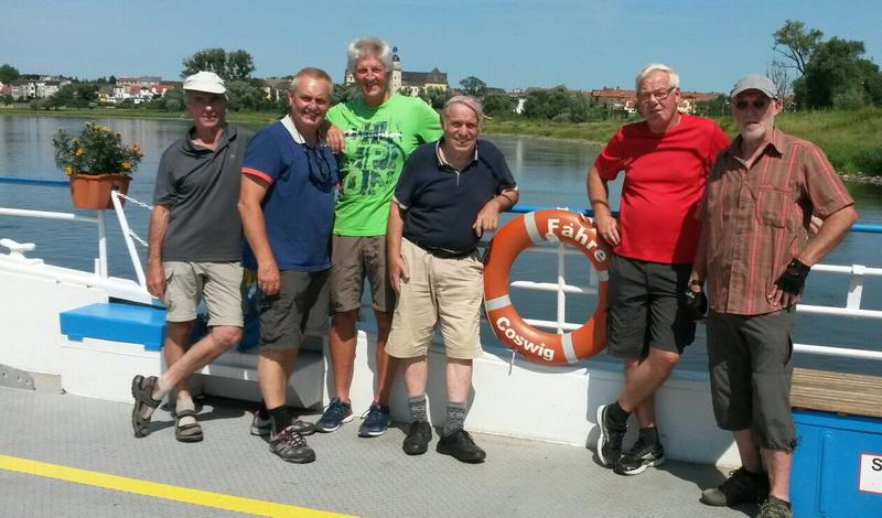 KLaus Meier, Volker Schulze, Ingo Fiebig, Heinzi Neugebauer, Kalle Hesse und Walter Schmidt